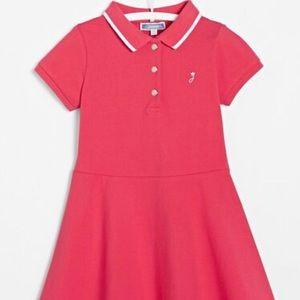 Jacadi Tea Pink Tennis Golf Pique Polo Mini Dress
